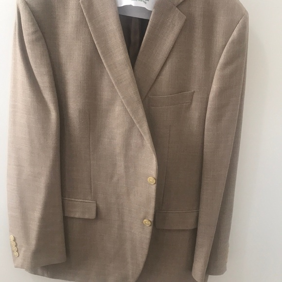Men's Ralph Lauren tan suit jacket 50L